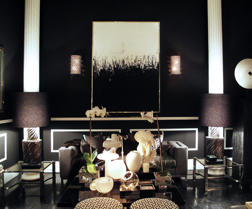 check out this chic home furnishings and accessories shop in soho flair new york city homes 2014. Black Bedroom Furniture Sets. Home Design Ideas