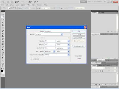 Cara Membuat Efek Logam/Chrome di Photoshop