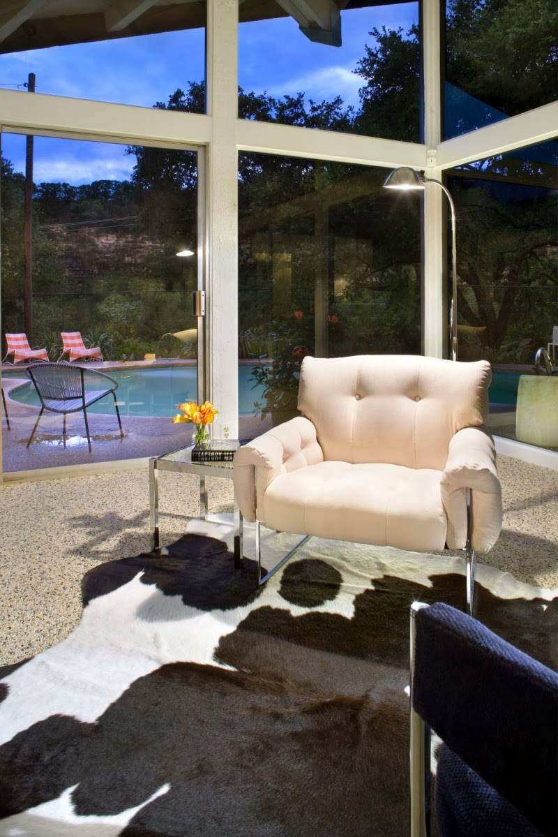 the contemporary design of mid century modern home by kevin pruitt - 50s Modern Home Design