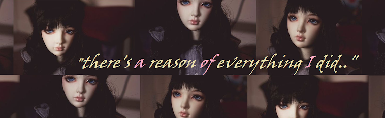 """there's a reason of everything I did.."""