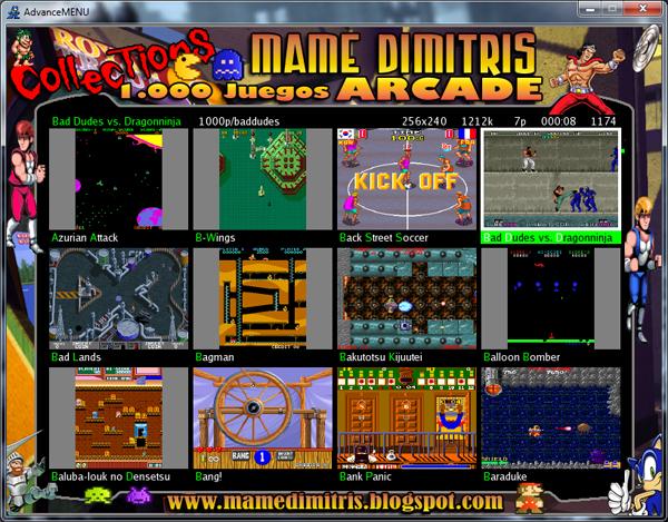 Juegos Arcade Emuladores Rooms