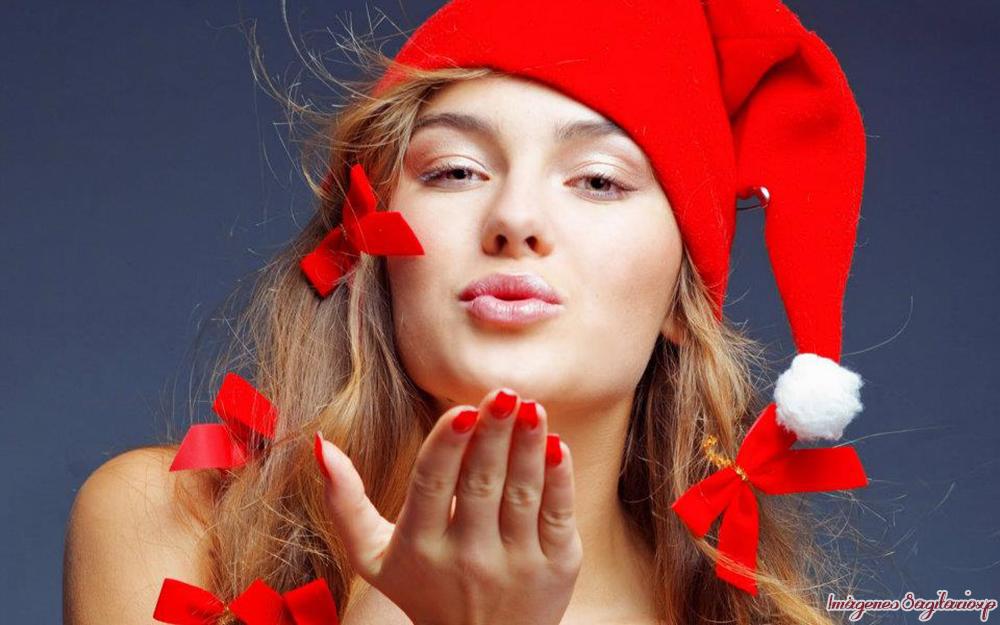 chicas sexis vestidas de santa claus: