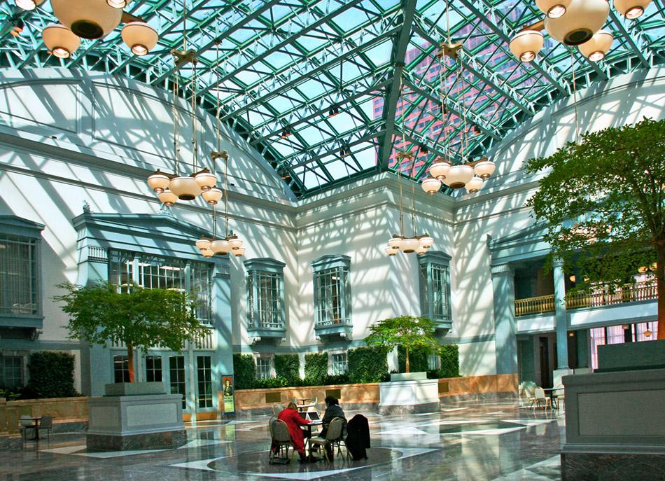 Chicago Architecture Cityscape Grand Interiors Atriums