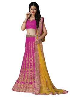 Indian A Linen Lehenga Collection 2016-2017 | A Line Lehenga Online
