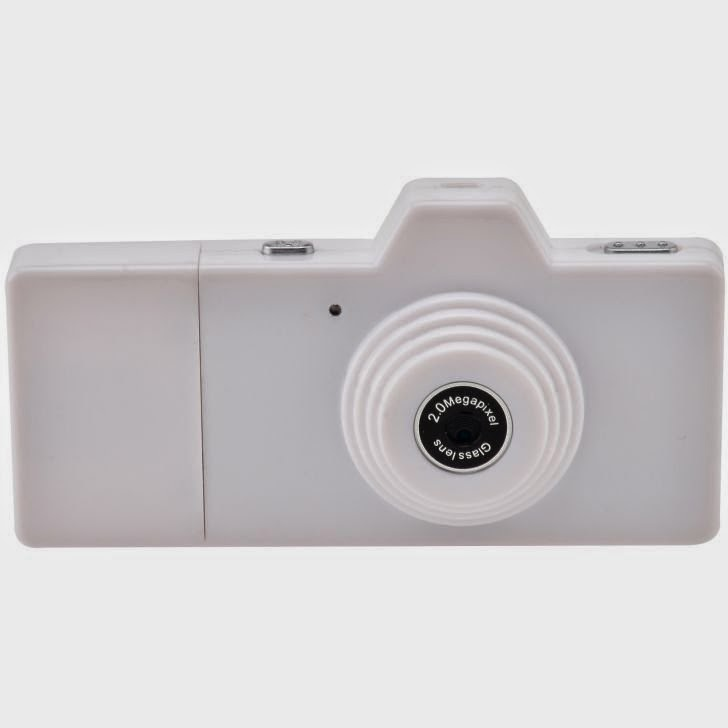 Eazzzy Mini Camera - 2 MP - Putih