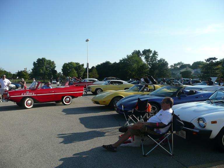 Monday Night Car Show Skokie
