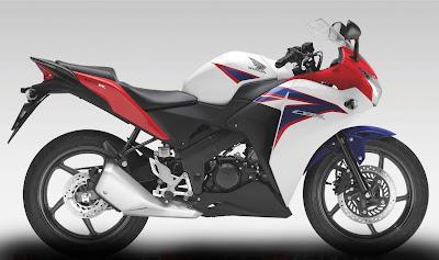 2011 Honda CBR150R Tricolor Edition