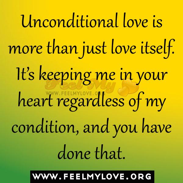 unconditional love quotes hearts quotesgram