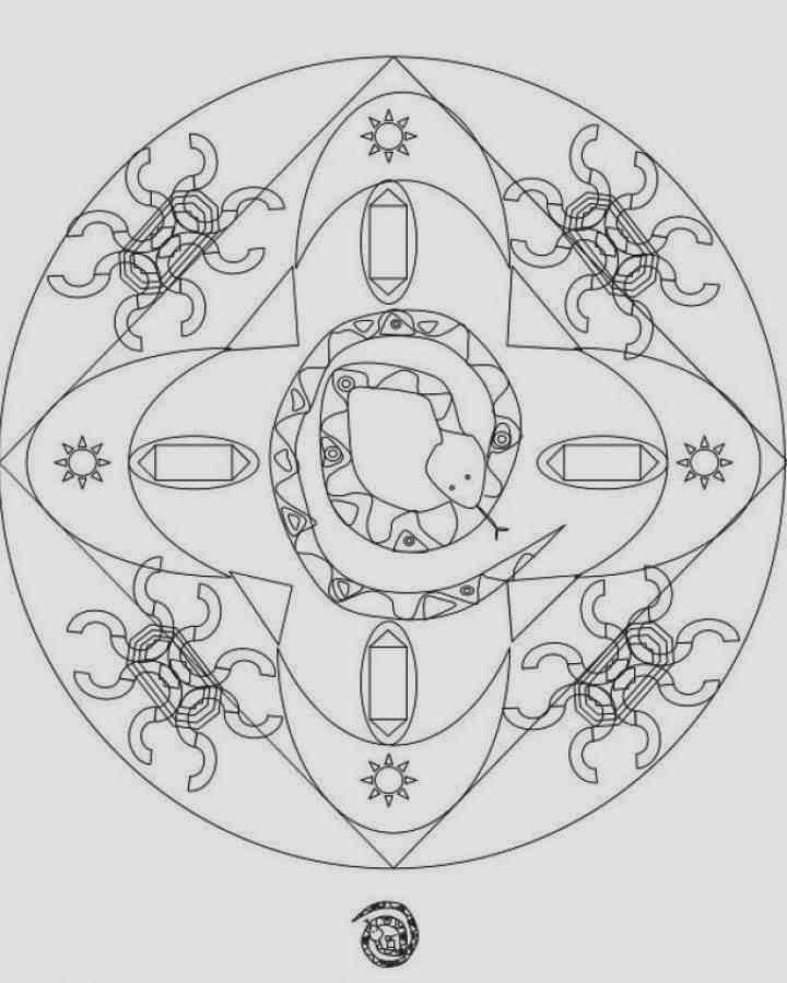 Download 9 Beautiful Advance Mandala Coloring Pages Print Out For Kids Cubic Special You