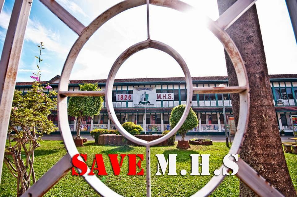 Selamatkan Sekolah Tinggi Melaka