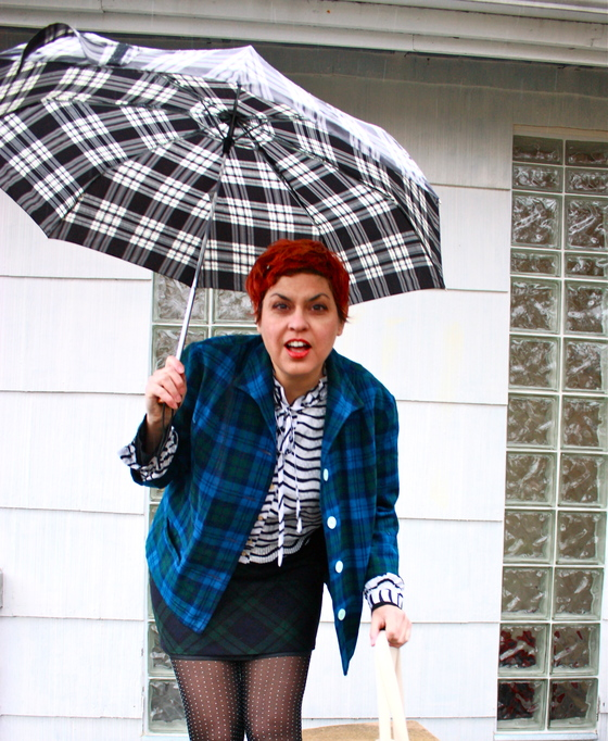 A Smile is Your Umbrella: The Plaid Edition