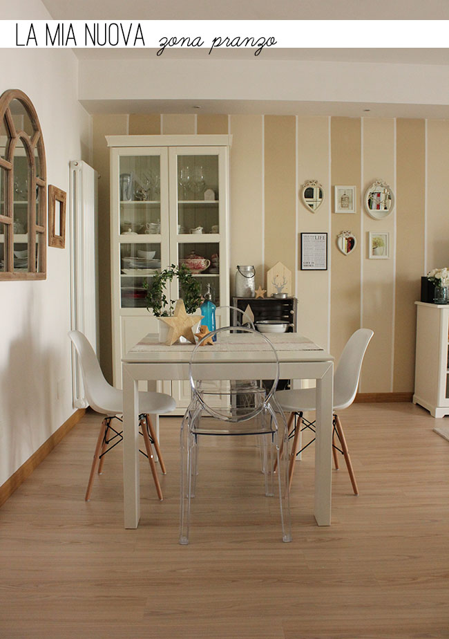 La mia nuova zona pranzo home shabby home arredamento - Zona pranzo design ...