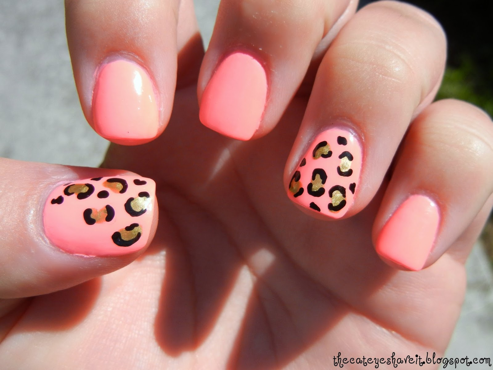 The Excellent Cute cat nail designs Image