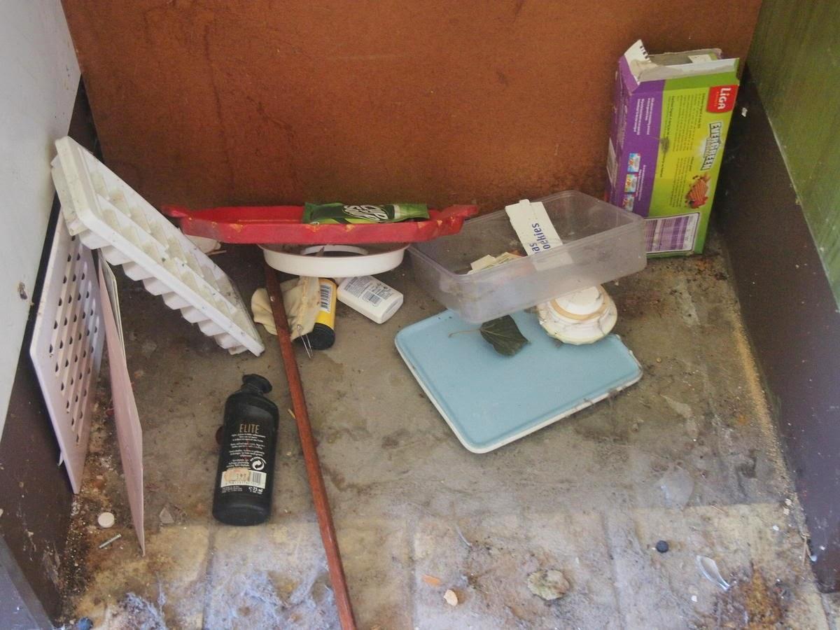 De kleine verbouwing: de wand in de garage 2