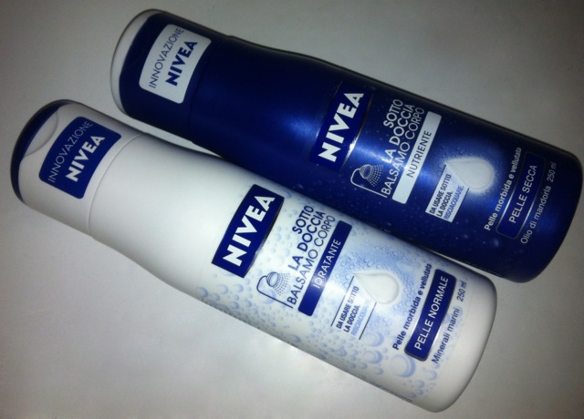 Nivea Balsamo Corpo Sotto la Doccia Blogger We Want You ITblogger Grazia.it