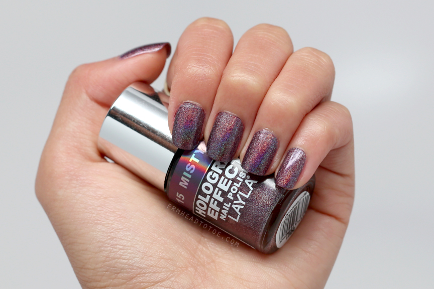 Manicure Monday: Layla Hologram Effect Polish - Misty Blush - From ...