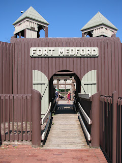 Fort Medford at Bob Meyer Park | The Family Penny Pincher