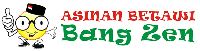 Asinan Betawi Bang Zen