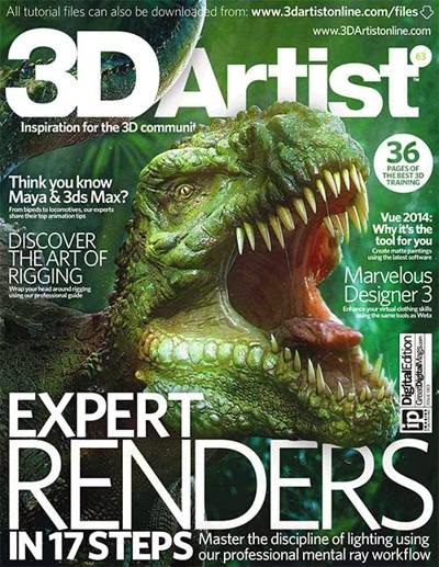 3DArtist Magazine Issue 63 February 2014