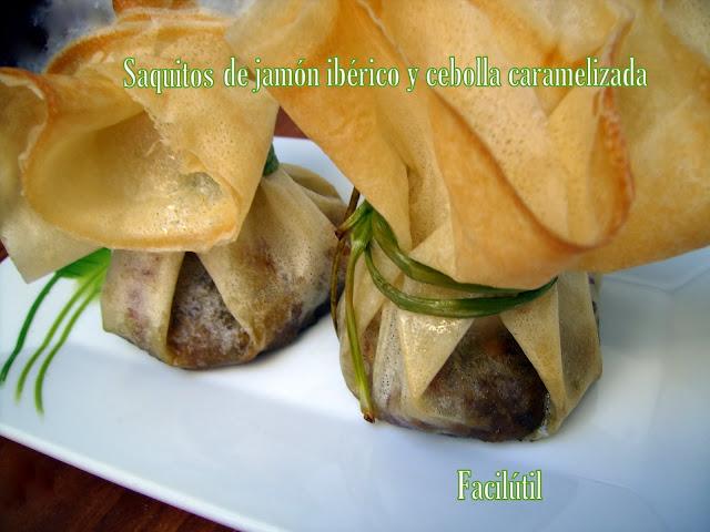 Saquitos-de-jamón-ibérico-y-cebolla-caramelizada