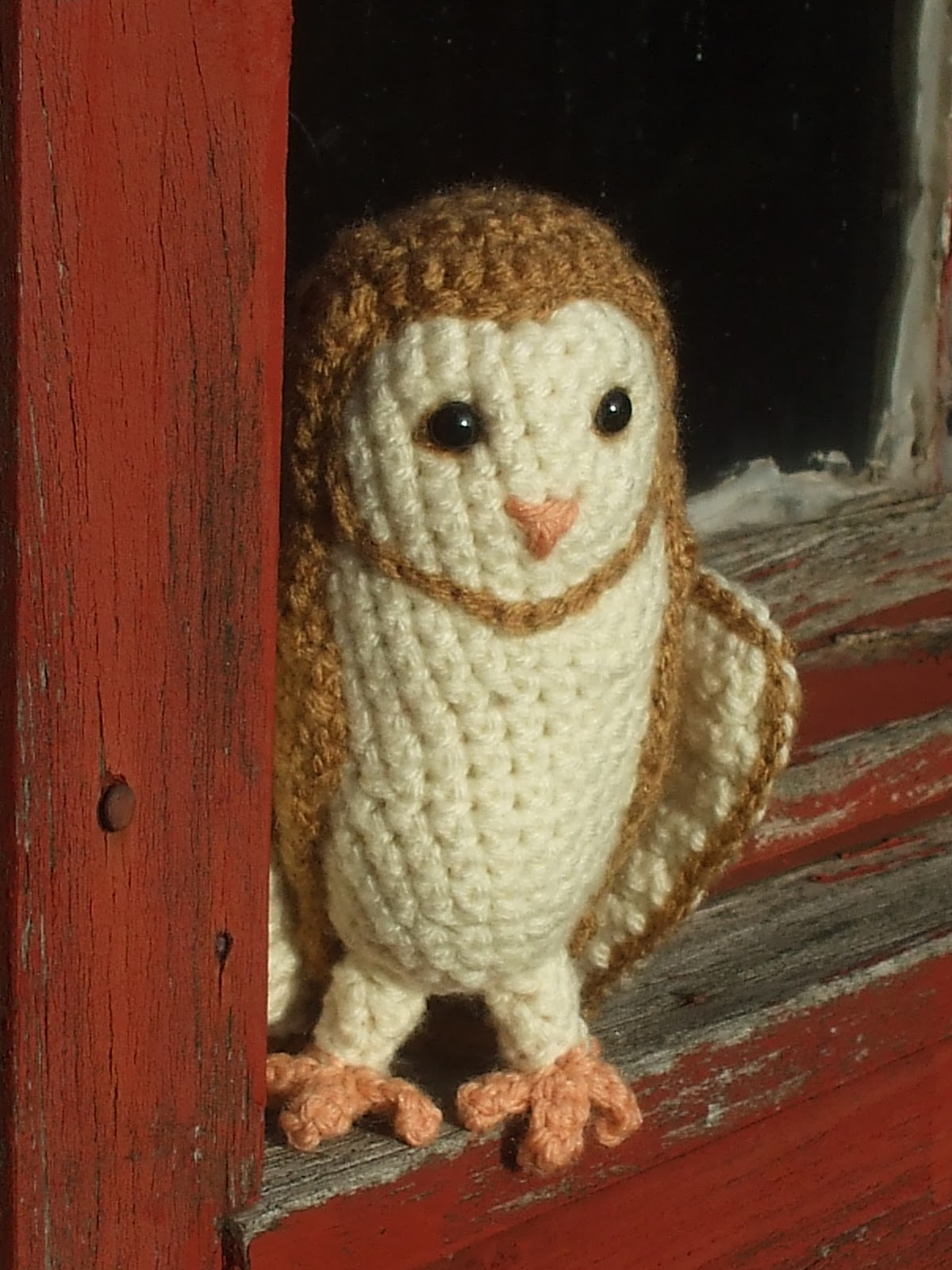Great Grey Crochet: Soren the Barn Owl