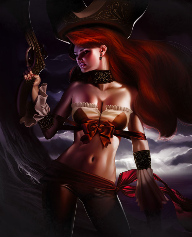 Miss Fortune by Andrew Hibner.