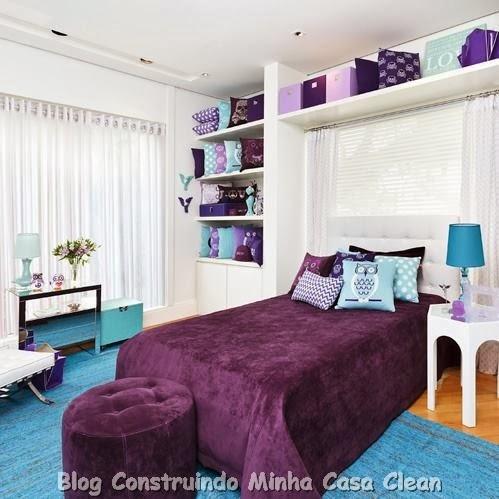 Construindo Minha Casa Clean: 15 Quartos dos Sonhos de Toda ...