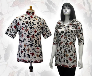 PO A9 MODEL BAJU BATIK WANITA MODERN