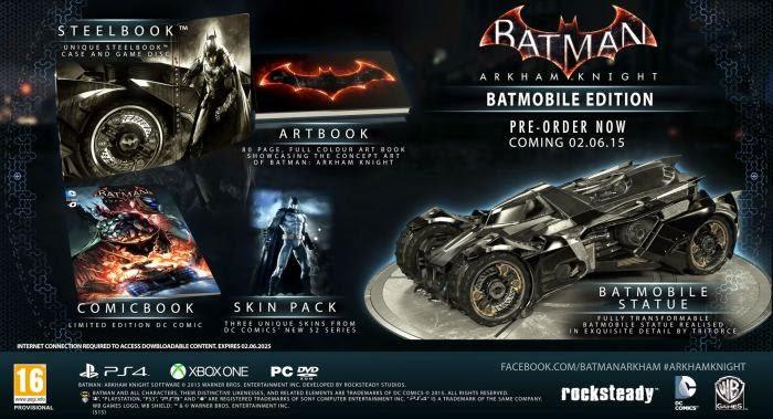 Batman: Arkham Knight çıkış tarihi ve fiyatı