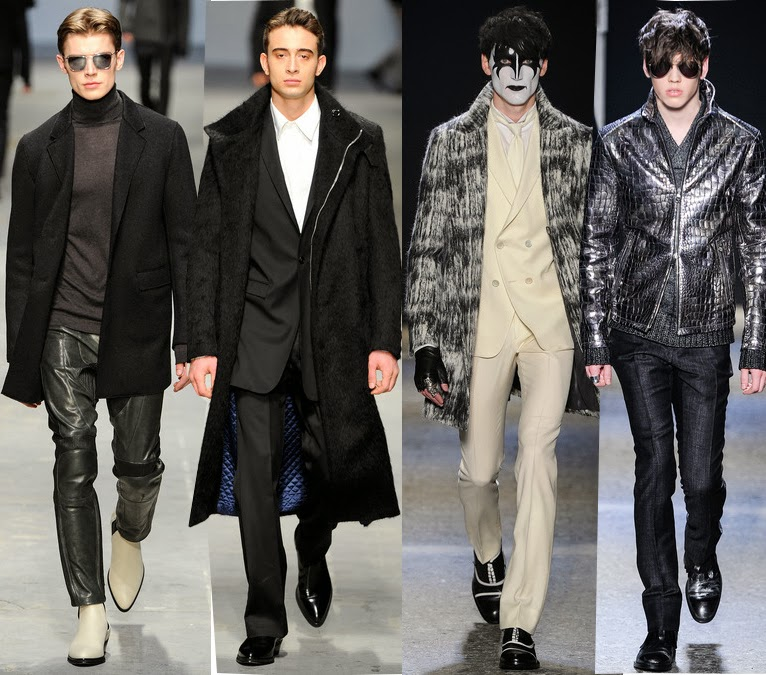 Costume National and John Varvatos Fall 2014