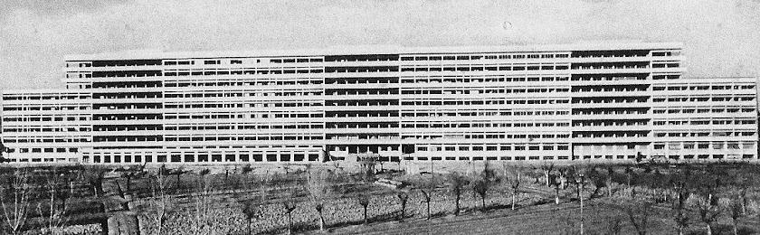 L'architetto degli ospedali a monoblocco, Ettore Rossi