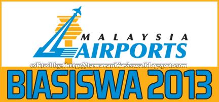 Permohonan Tajaan Biasiswa Malaysia Airports untuk Ijazah Sarjana Muda | Scholarship