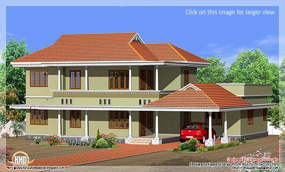 Simple Kerala style villa