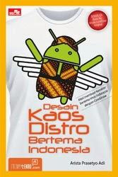 Buku Desain Kaos Distro Bertema Indonesia