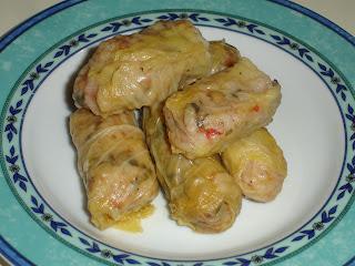 Συνταγές :  Ντολμαδάκια Νηστίσιμα με Λάχανο και Φακές