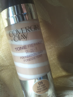 Covergirl & Olay 2 in 1 Foundation Review © A Mama's Corner of the World