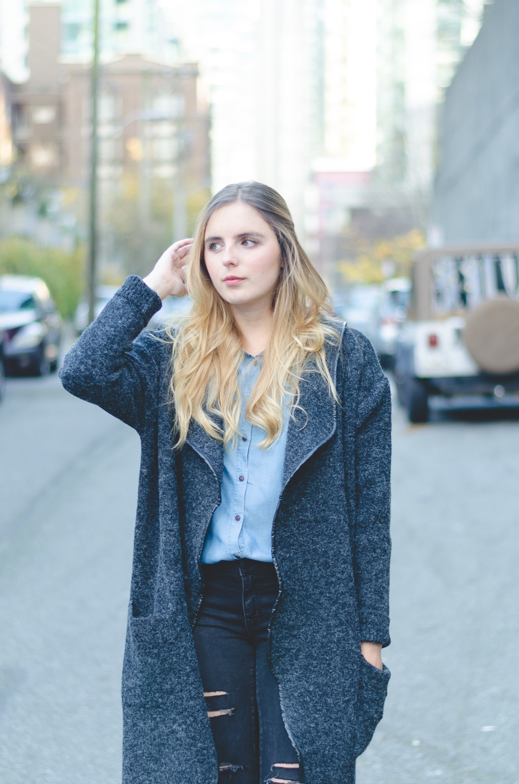 Why You Need a Sweater Coat this Winter » Vancouver Style &amp Beauty