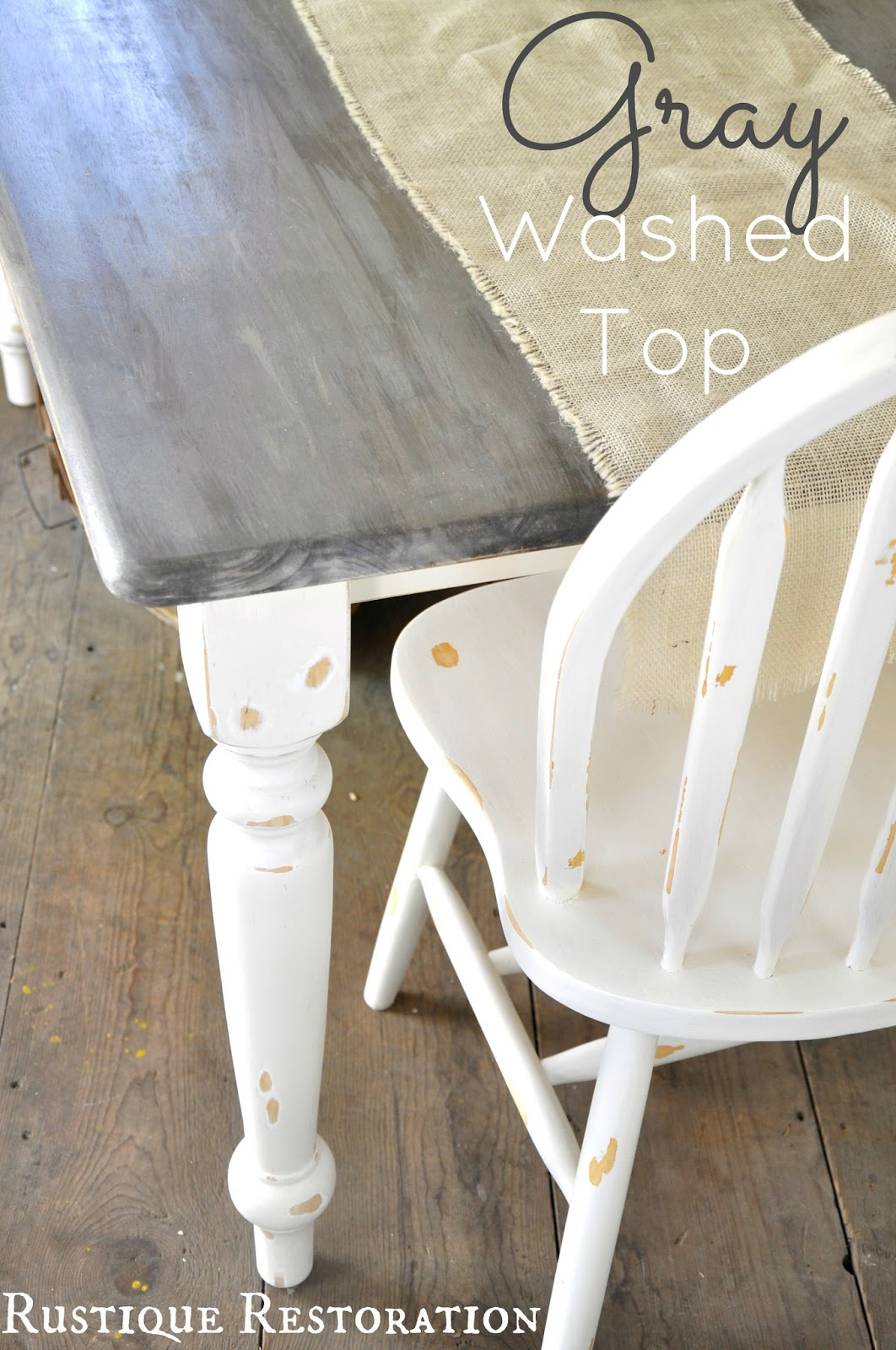 Rustique Restoration Farmhouse Table Amp A Fall Diy Sneak