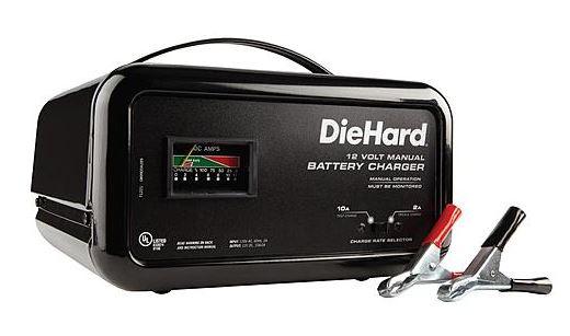 diehard 10 amp manual battery charger 14 97 reg 44 99 free rh heavenlysteals com sears 40/2 amp manual battery charger 200 amp engine starter sears 10/2 manual battery charger