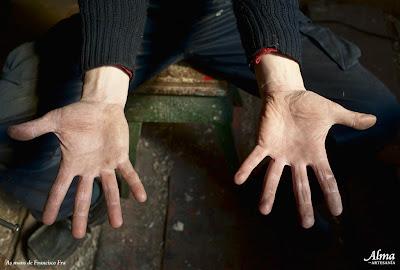 manos de Francisco Fra