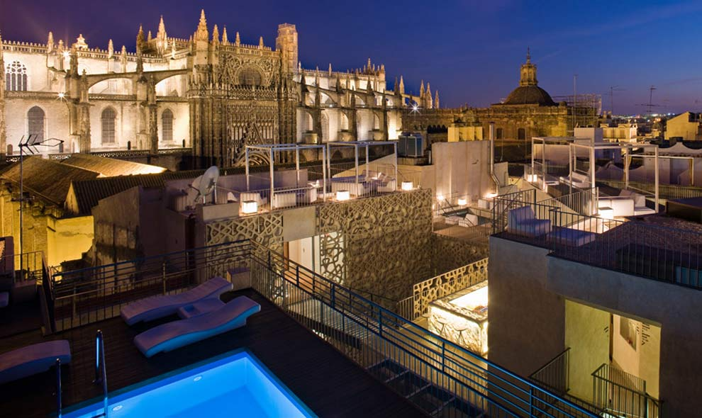 La guarida de bam las terrazas urbanas m s chic - Hotel eme sevilla spa ...