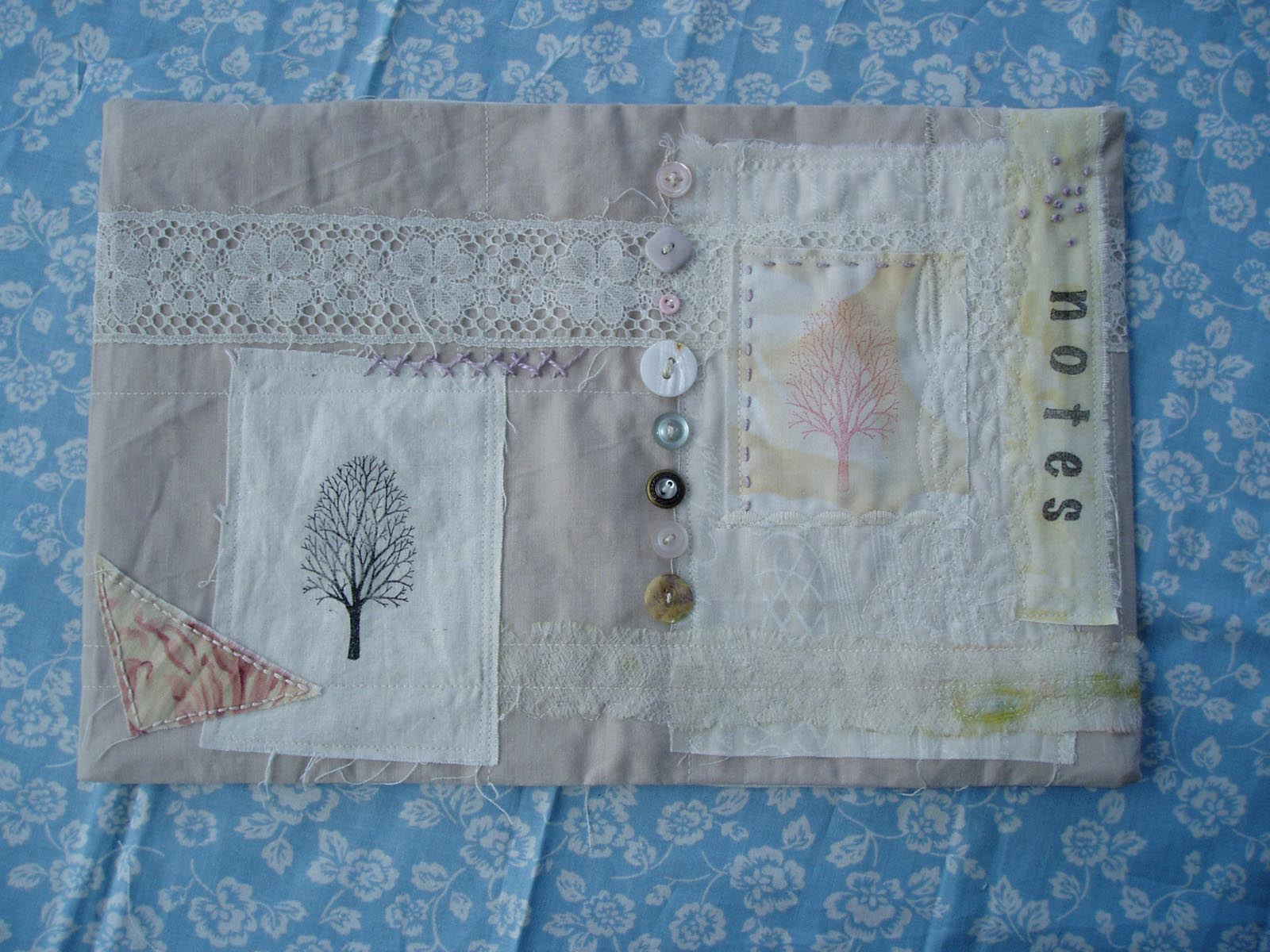 Book Cover Tutorial : Charlotte scott textile artist fabric book cover tutorial