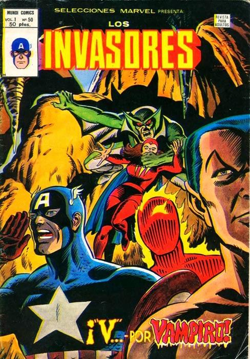 Portada de Los Invasores-Selecciones Marvel Volumen 1
