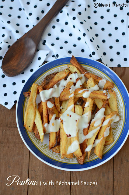 French Fries with white sauce