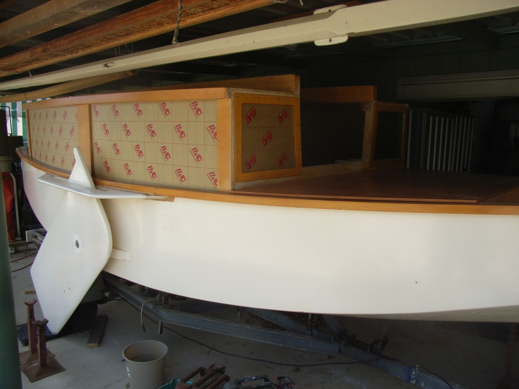 Ross lillistone wooden boats workshop news for Window installation nz