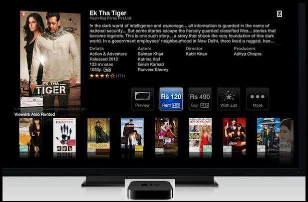 Apple TV India : Ek Tha Tiger