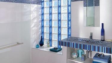 Bloques de vidrio para tener un ba o iluminado decorar decoraci n - Decoracion con paves ...