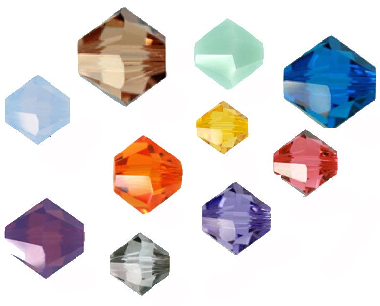 Swarovski crystals matching Pantone Spring 2014