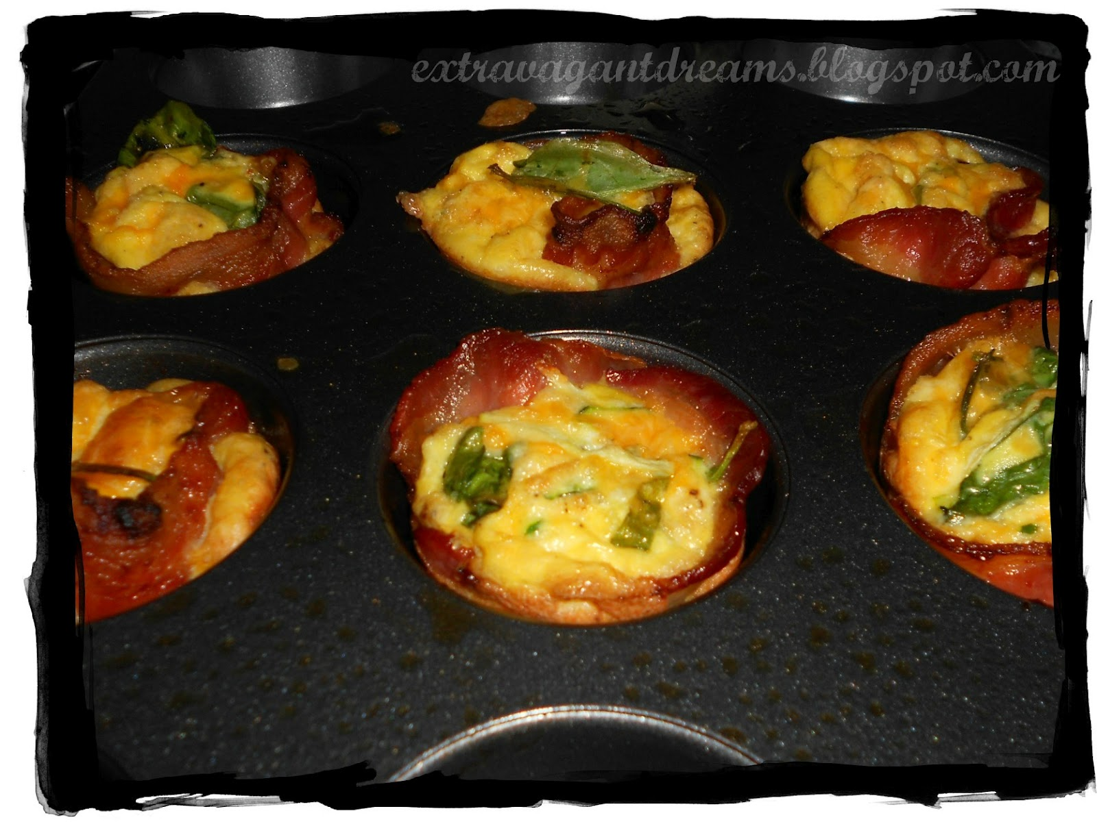 Bacon Dippers Gallery: Bacon Egg Muffin Cups