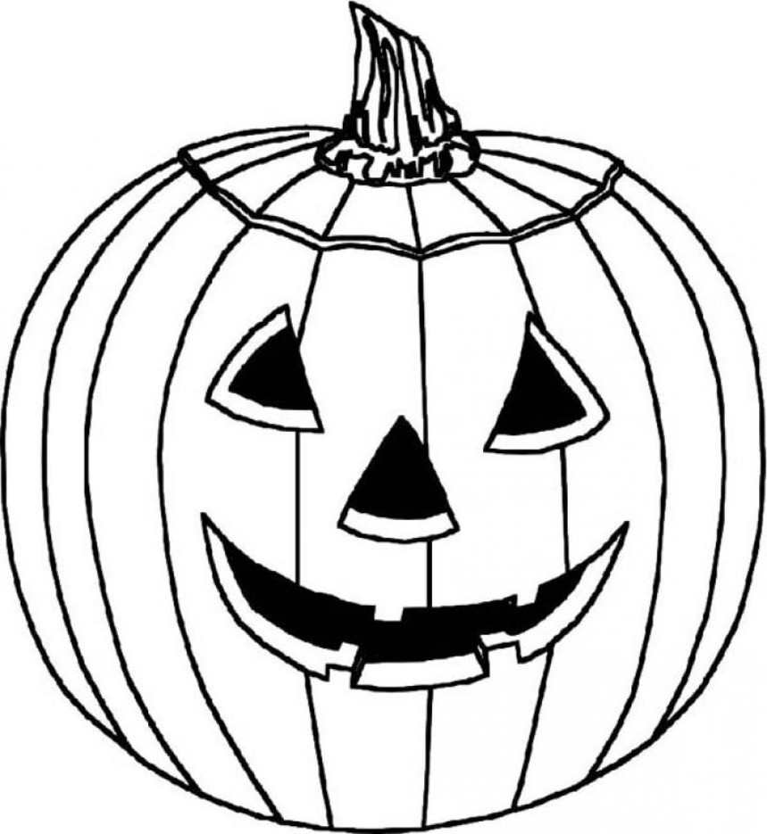 Coloring pictures halloween print